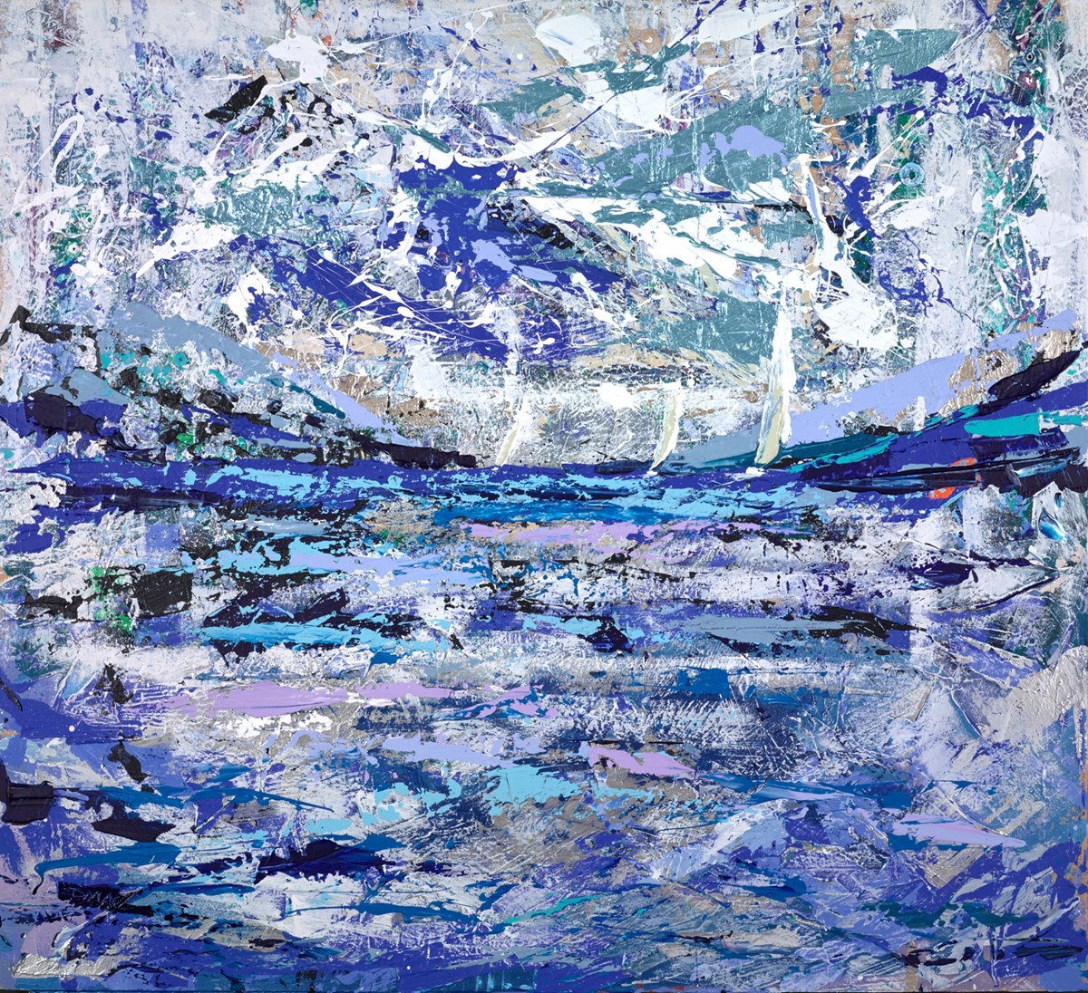 More Weather Arriving by duncan macgregor -  sized 48x44 inches. Available from Whitewall Galleries